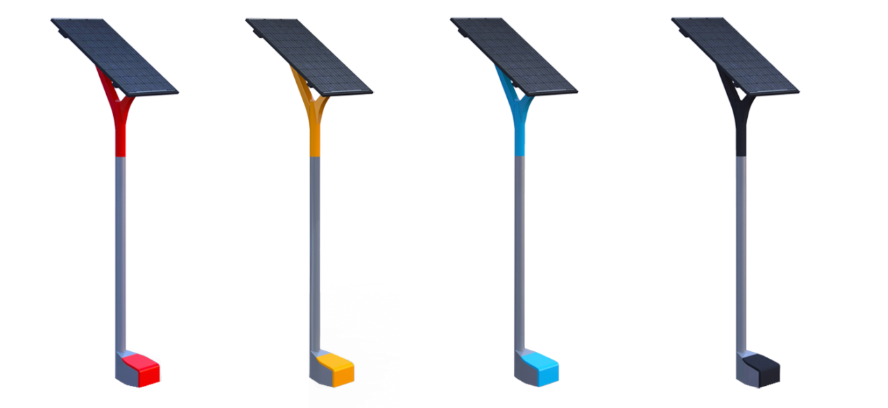The Solar is available in different colors, ask us for the possibilities