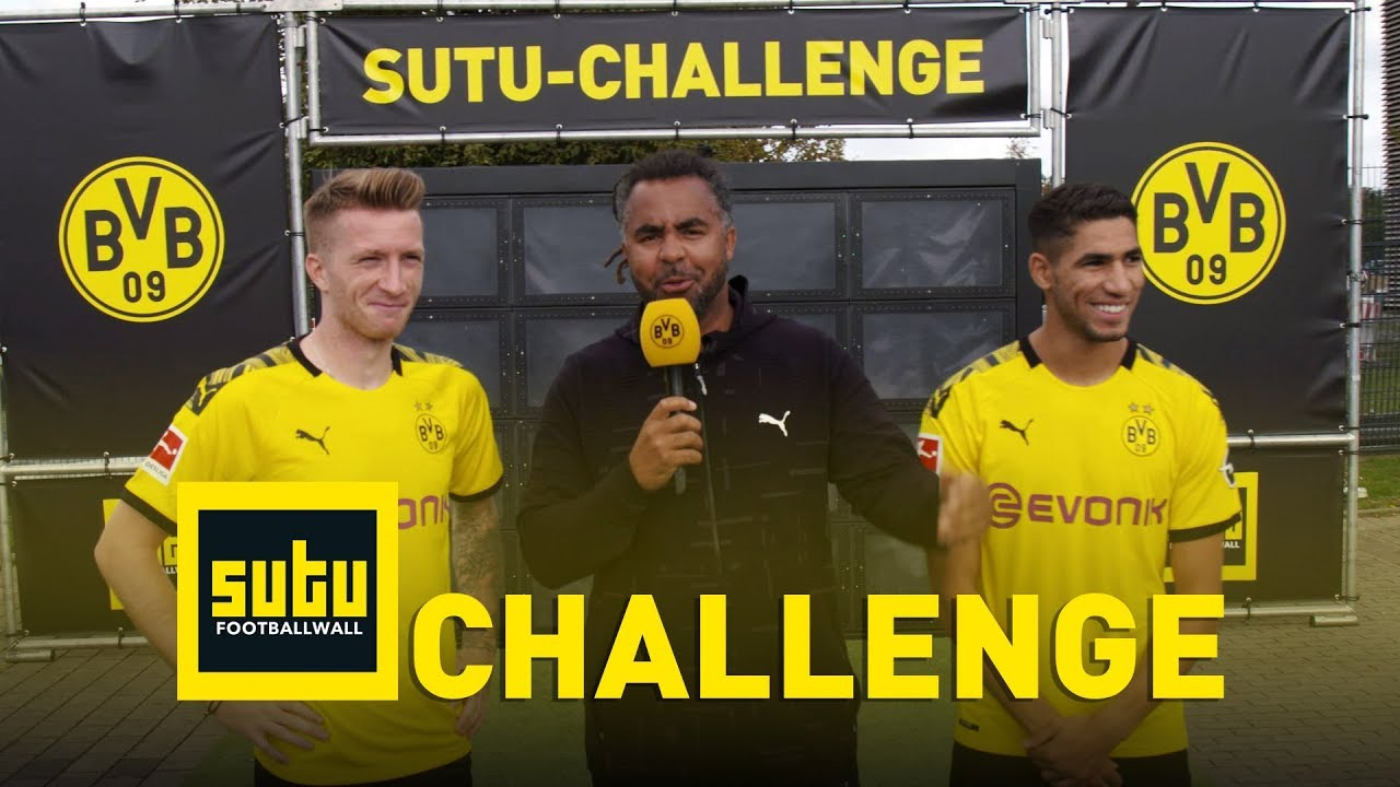 Yalp Sutu - Fußballwand - BVB Challenge