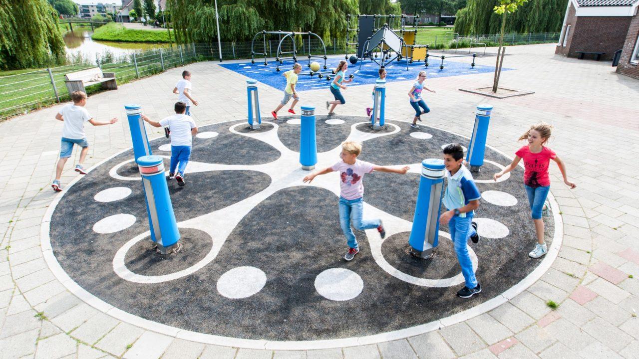 Schoolyard | Julianaschool, the Netherlands
