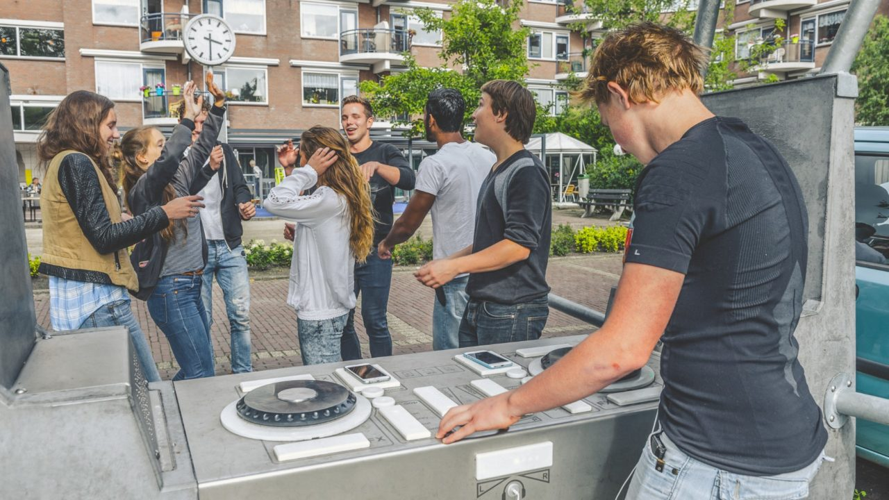 Yalp Fono Interactive DJ-booth | the Hauge, the Netherlands