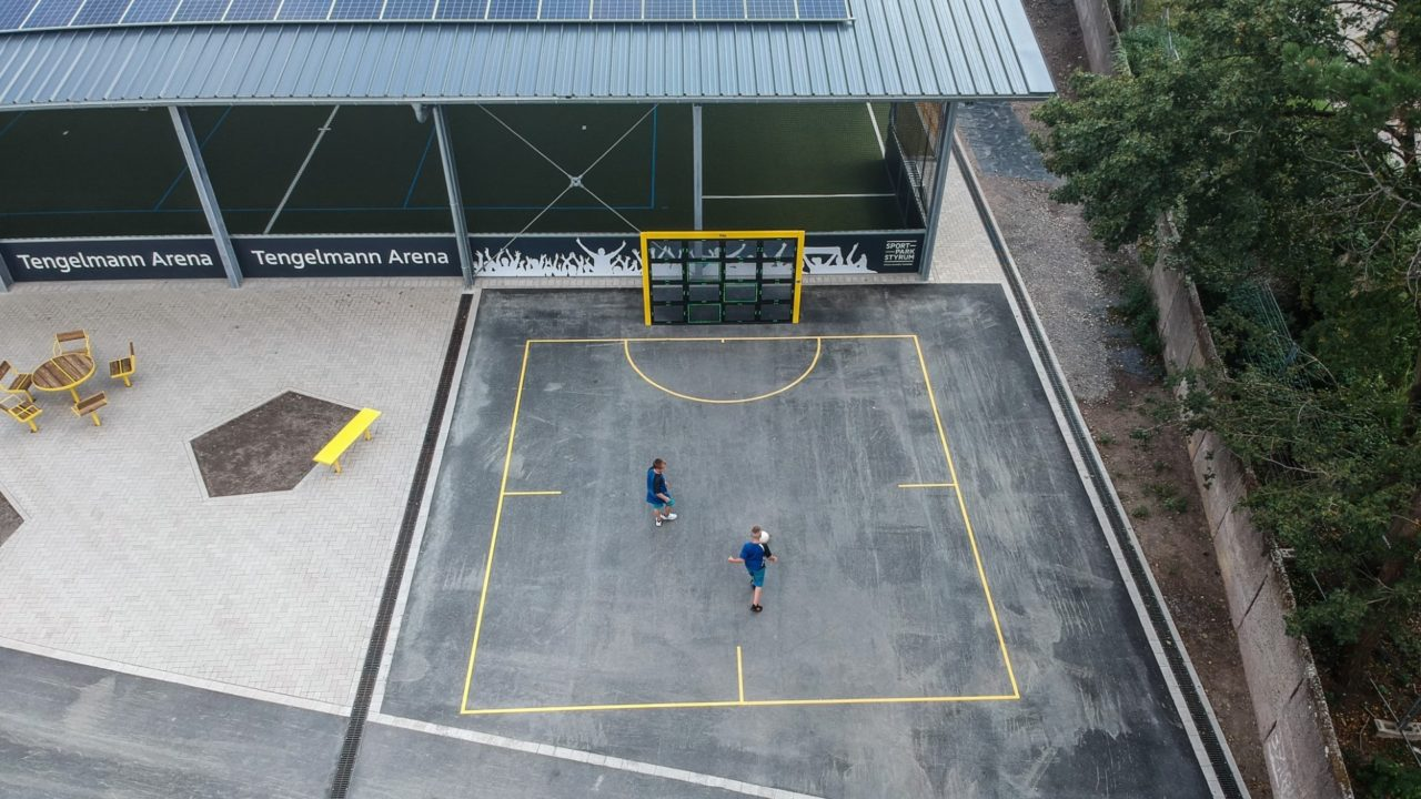 Yalp Sutu Interactive ball wall - Sportpark Styrum, Germany