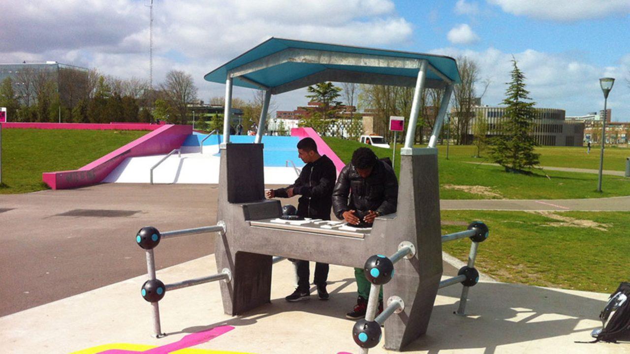 Yalp Fono Interactive DJ-booth
