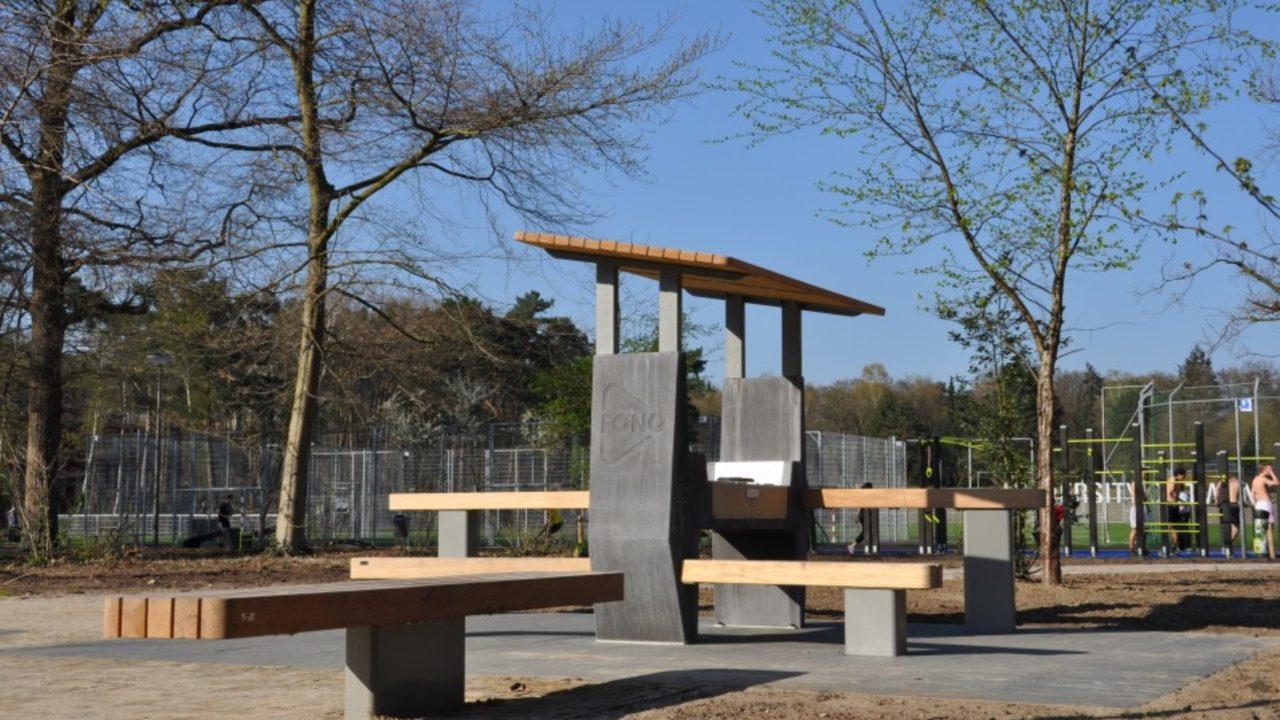 Schoolyard | University of Twente, the Netherlands